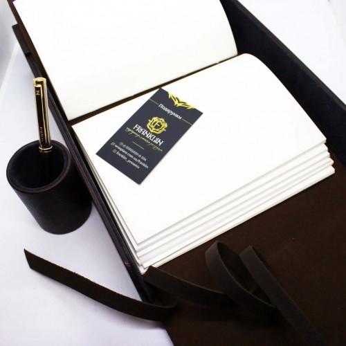 Офисный подарочный набор для мужчин с кожаным блокнотом Lucas ►FRANKLIN-10