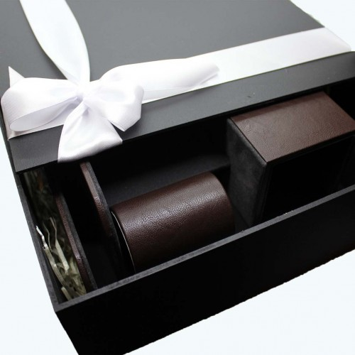 Офисный подарочный набор для мужчин с кожаным блокнотом Lucas ►FRANKLIN-3