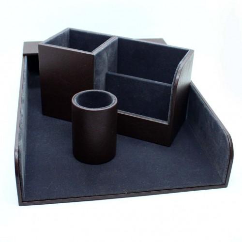 Офисный подарочный набор для мужчин с кожаным блокнотом Lucas ►FRANKLIN-2