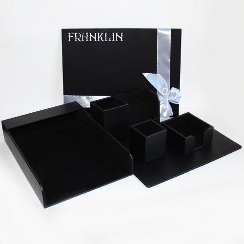 Офисный настольный подарочный набор для мужчин Onyx ►FRANKLIN-2