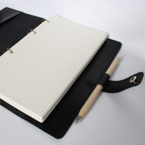 Деловой подарочный набор для мужчин с кожаным блокнотом и виски Big Boss ▶ FRANKLIN -6