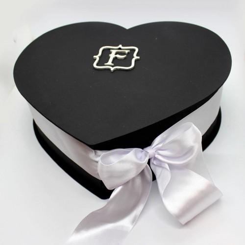 Подарочный набор для мужчин в виде сердца с алкоголем Black Heart ▶FRANKLIN -2