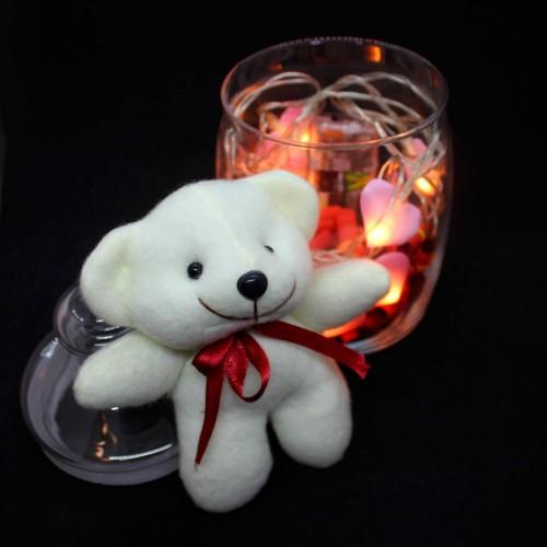 Светящийся подарочный набор-аквариум с подсветкой для любимых Burning Heart ►FRANKLIN-4