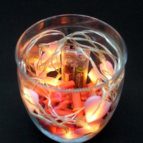 Светящийся подарочный набор-аквариум с подсветкой для любимых Burning Heart ►FRANKLIN-7