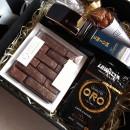 Подарунковий бокс з шкіряним ременем, шоколадом та кавою ►Caramel-2