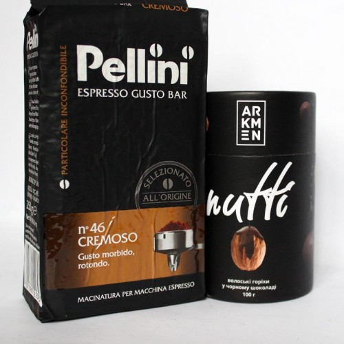 Подарочный набор для мужчин с виски, кофе и орехами СhocoNuts Mix ▶ FRANKLIN -7