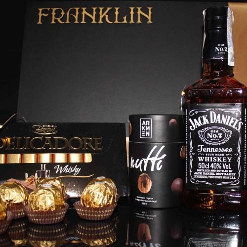 Деловой подарочный набор для мужчин с кофе и шоколадом СhocoNuts Mix ▶FRANKLIN -3