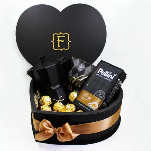 Набір для коханого чоловіка з кавоваркою ►Coffee Love-2