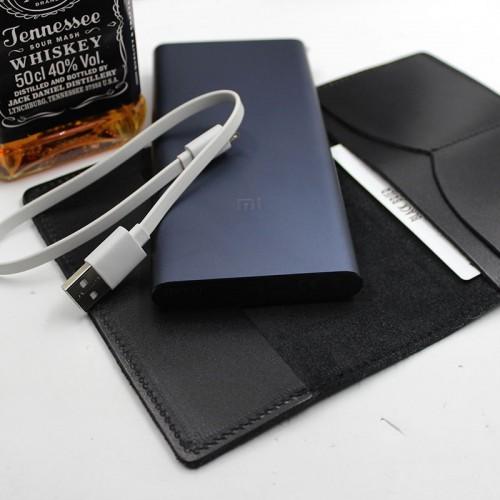 Деловой подарочный набор для мужчин с виски, кожаной обложкой и powerBank ▶Cool Man-3