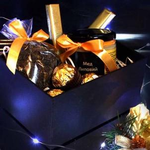 Набір подарунковий з чаєм та медом Cozy ►FRANKLIN-1