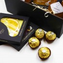 Солодкий подарунковий набір з шоколадом, карамеллю і кавою Delicious-4