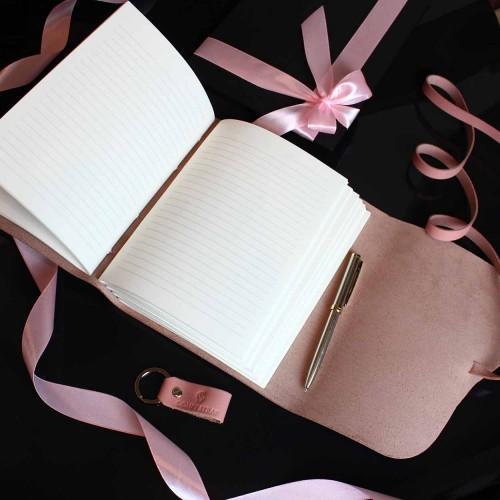 Женский набор с кожаным блокнотом и ручкой Dolly ▶FRANKLIN -3