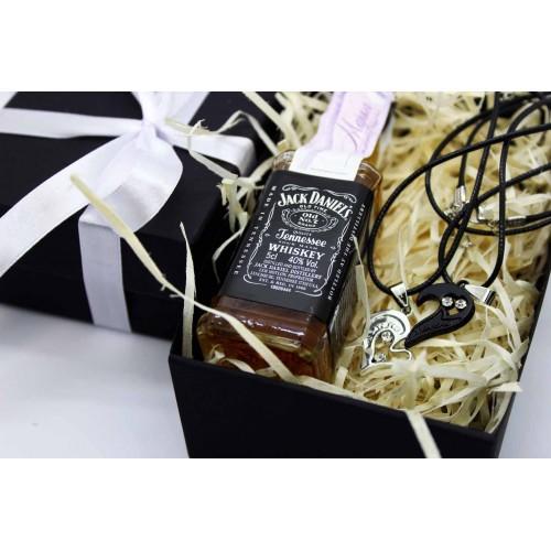 Подарочный набор для парня с виски и подвесками Yin Yang ▶ FRANKLIN -4