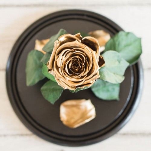 Роза в колбе Lux 30 см Standart-3
