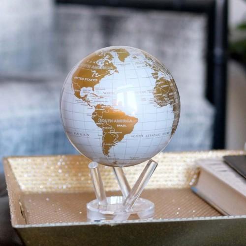 Глобус самовращающийся Политическая карта Gold-1