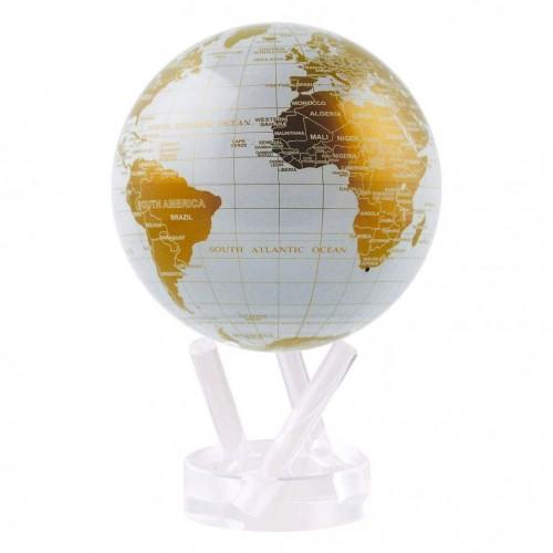 Глобус самовращающийся Политическая карта Gold-4