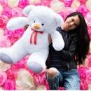 Плюшевый медведь Белый Томми 100 см-2