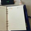 Ежедневник со встроенными PowerBank, USB и флешкой Blue + система беспроводной зарядки-4