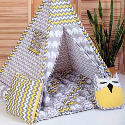 """Детский вигвам """"Бонбон Египет"""" с подушками-1"""