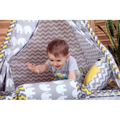 """Детский вигвам """"Египет"""" с подушкой-2"""