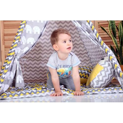 """Детский вигвам """"Египет"""" с подушкой-4"""