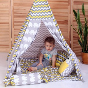 """Детский вигвам """"Египет"""" с подушкой-1"""
